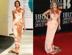 Rita Ora In Ulyana Sergeenko - 2013 Brit Awards