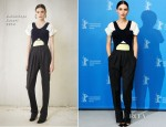Rooney Mara In Balenciaga - 'Side Effects' Berlin Film Festival Photocall
