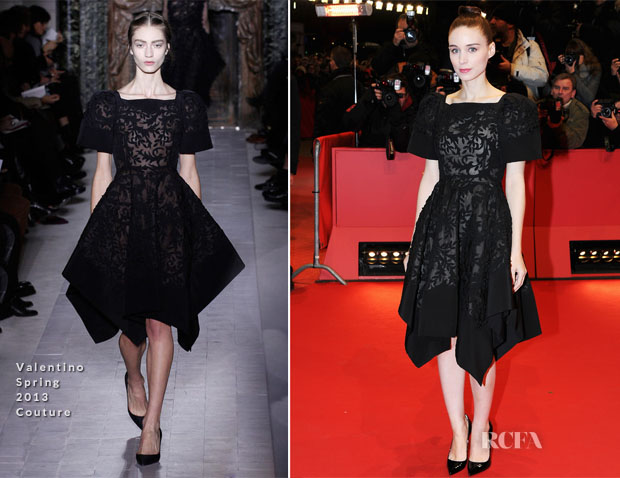 Rooney Mara In Valentino Couture - 'Side Effects' Berlin Film Festival Premiere
