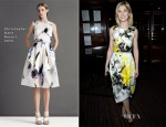 Rosamund Pike In Christopher Kane - PANTA RHEI Private Viewing