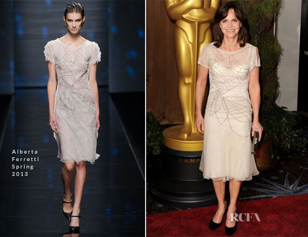 Sally Field In Alberta Ferretti - 85th Academy Awards Nominations Luncheon