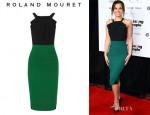 Samantha Barks' Roland Mouret 'Abbotsford' Dress