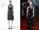 Saoirse Ronan In Christopher Kane - 2013 BAFTA Awards