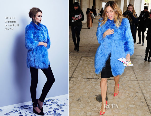 Sarah Jessica Parker In Mischa Nonoo - New York City Ballet Luncheon
