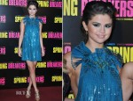 Selena Gomez In Gucci - 'Spring Breakers' Paris Premiere