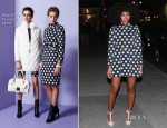 Solange Knowles In Moschino - Late Show With David Letterman