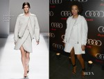 Solange Knowles In Sportmax - Audi Forum New Orleans