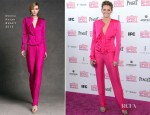 Stana Katic In Donna Karan - 2013 Independent Spirit Awards