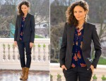 Thandie Newton In Isabel Marant - 'One Billion Rising' London Photocall