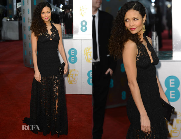 Thandie Newton in Louis Vuitton - 2013 BAFTA Awards