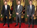 The 85th Academy Awards Nominations Luncheon Menswear Round Up