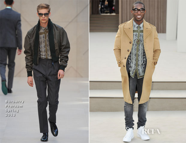 Tinie Tempah In Burberry Prorsum - Burberry Prorsum Fall 2013