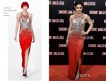 Vanessa Hudgens In Julien Macdonald - 'Spring Breakers' Madrid Premiere