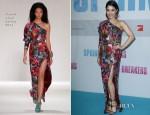 Vanessa Hudgens In Naeem Khan - 'Spring Breakers' Berlin Premiere