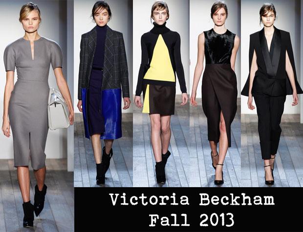 Victoria Beckham Fall 2013 NYFW