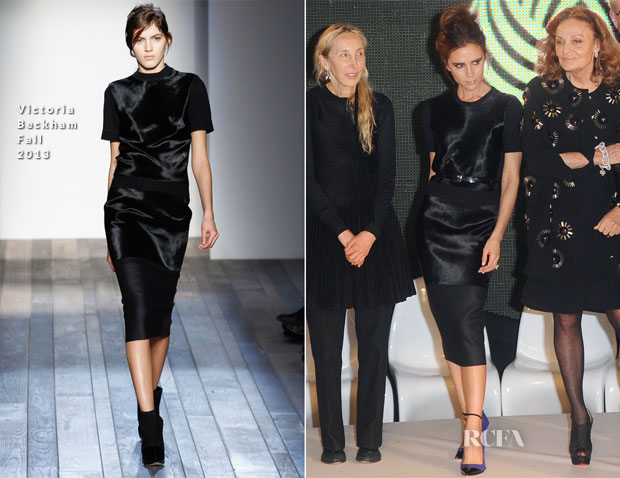 Victoria Beckham In Victoria Beckham - International Woolmark Prize