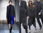 Victoria Beckham In Victoria Beckham - Shopping In Paris