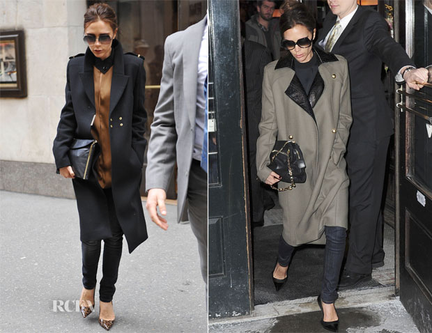 Victoria Beckham in Victoria Beckham New York City