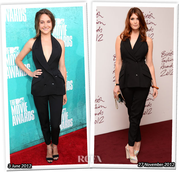 Who Wore Stella McCartney Better Shailene Woodley or Gemma Arterton