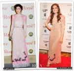 Who Wore Valentino Better...Alessandra Mastronardi or Allison Williams?