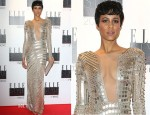 Zawe Ashton In Julien Macdonald - 2013 Elle Style Awards