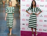 Zoe Saldana In Dolce & Gabbana - 2013 Independent Spirit Awards