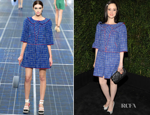 Andrea Riseborough In Chanel - 2013 Chanel Pre-Oscar Dinner