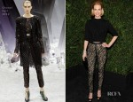 January Jones In Chanel – 2013 Chanel Pre-Oscar Dinner
