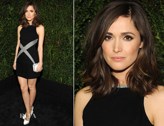 Rose Byrne In Chanel - 2013 Chanel Pre-Oscar Dinner