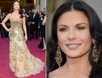 Catherine Zeta-Jones In Zuhair Murad – 2013 Oscars