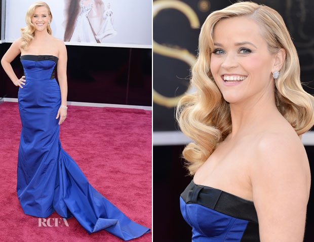 Reese Witherspoon In Louis Vuitton - 2013 Oscars
