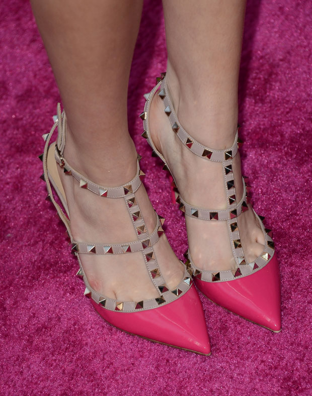 Bella Thorne's Valentino Rock Stud pumps