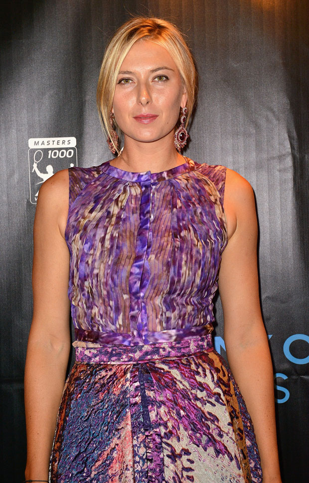 Maria Sharapova in J. Mendel