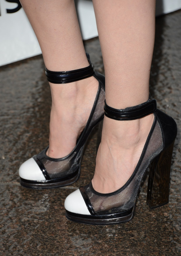 Jessica Pare's Casadei pumps