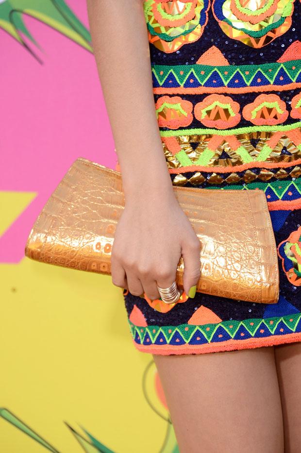 Victoria Justice's Nancy Gonzalez clutch