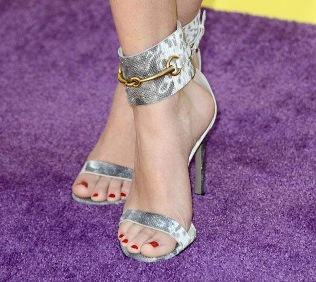Selena Gomez' Gucci 'Ursula' sandals