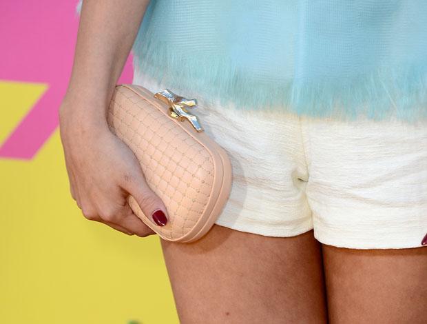 Selena Gomez'  Diane von Furstenberg 'Lytton' quilted clutch