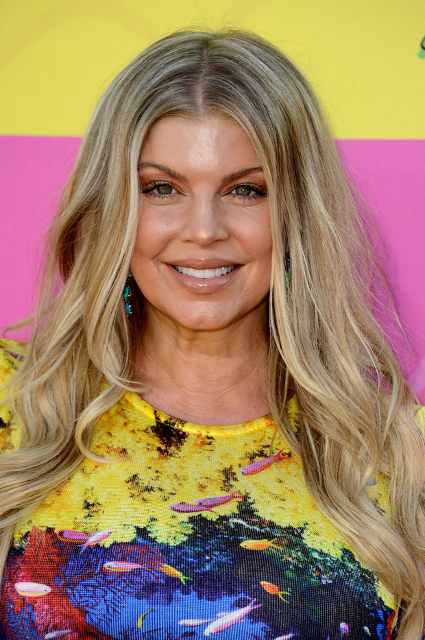 Fergie in Mary Katrantzou