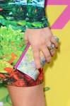 Fergie's Swarovski clutch