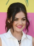 Lucy Hale in Christian Dior