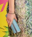Miranda Cosgrove's Jimmy Choo clutch