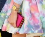Zendaya Coleman's YSL clutch