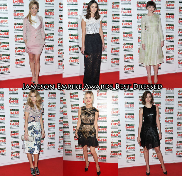2013 Jameson Empire Awards Best Dressed