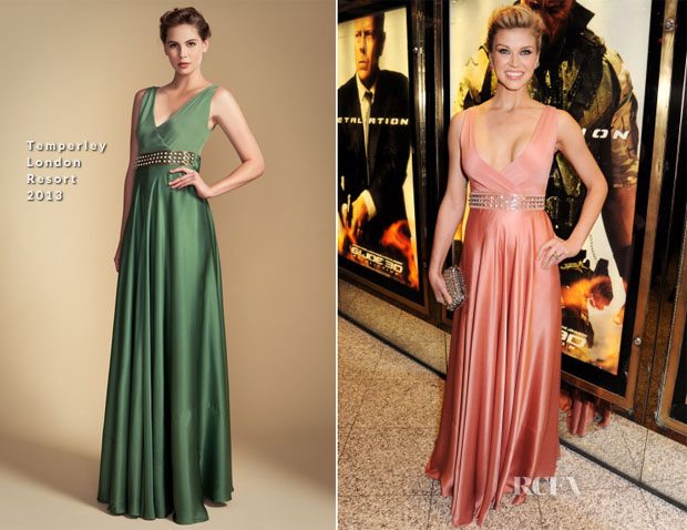 Adrianne Palicki In Temperley London -  'GI Joe Retaliation'