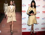 Alexa Chung In Carven - The Big British Invite