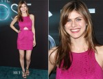 Alexandra Daddario In Jay Godfrey - 'The Host' LA Premiere