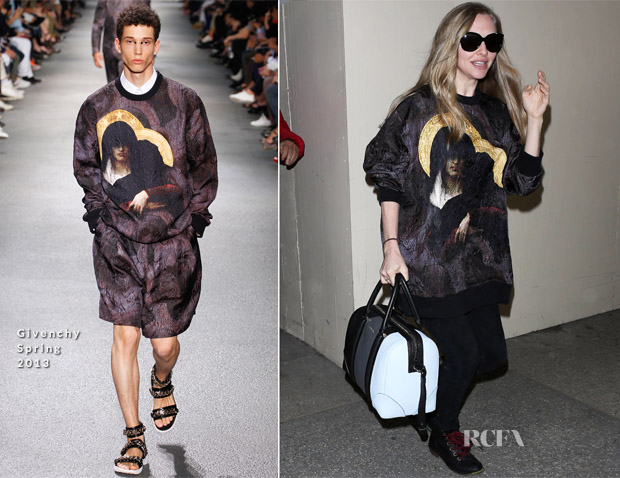 Amanda Seyfried In Givenchy - LAX