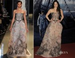 Andrea Riseborough In Elie Saab Couture - 'Oblivion' World Premiere