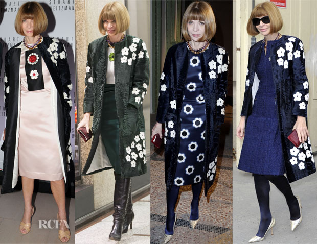 Anna Wintour Loves Her Prada Coat