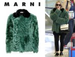 Ashley Olsen's Marni Fur Jacket